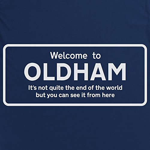 Not Quite The End Of The World - Oldham T-Shirt, Damen Dunkelblau