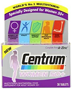 Centrum Women 50 Plus SRP Tablets - Pack of 60 Tablets