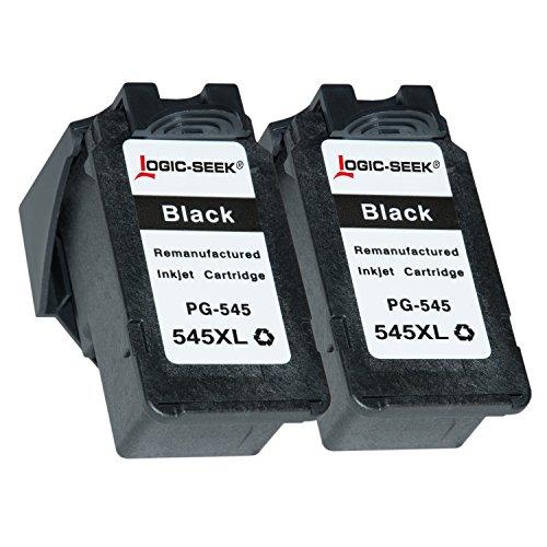 Preisvergleich Produktbild 2 Tintenpatronen für Canon Pixma MG2550 IP2850 MX495 - PG-545XL 8286B001 - Schwarz je 15ml, mit voller Funktion der Füllstandsanzeige