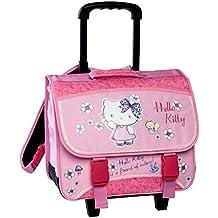 Sanrio : Hello Kitty - Cartable Scolaire à roulettes 38 cm