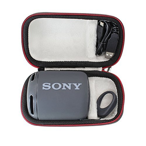 pour Sony SRS-XB10B Enceinte portable compacte sans fil Bluetooth étanches Dur Voyage Cas Sac par VIVENS