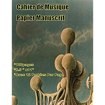 Cahier de Musique: (11) Papier Manuscrit