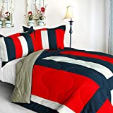 Best Sets Croscill Couette - [Caroline amoureux] matelassé patchwork Duvet Alternative Couette, Microfibre Review