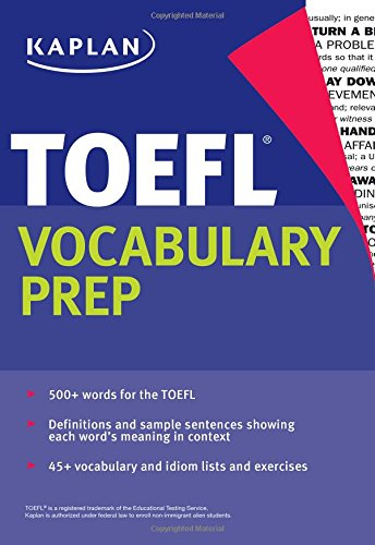 TOEFL VOCABULARY PREP