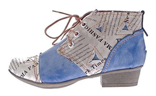 TMA , Chaussures à tige basse femme Bleu