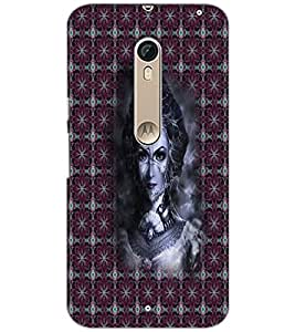 PrintDhaba Vamp D-3009 Back Case Cover for MOTOROLA MOTO X STYLE (Multi-Coloured)