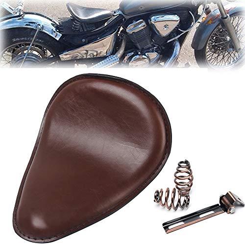 Triclicks Sillin para Moto Marron Incluye Soporte y Muelles