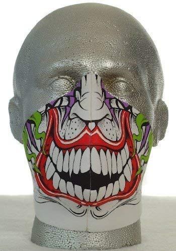BANDERO Motero Máscara Joker