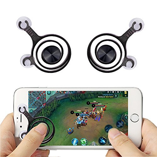 Simply-me Mobile Game Joystick Handy Tablet Game Controller , Rocker Touch Bildschirm Joypad Game Controller für Smartphone/iPad , 2Packungen Touch Mobile Handy