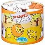 Aladine - 85100 - Loisir Créatif - Stampominos - Savane