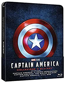 Captain America Trilogia Steelbook (3 Blu-Ray)