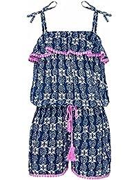 Snapper Rock chica Jumpsuit Piña Azul azul Talla:9-10 Jahre, 140-146cm