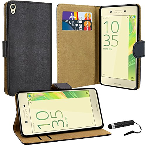 sony-xperia-x-case-premium-quality-leather-wallet-case-cover-comes-with-xperia-x-screen-protector-st