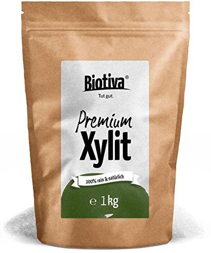Xylit – Die Zucker-Alternative (1kg) - Birkenzucker (Xylitol) - Finnland - süß wie-Zucker - ohne Nachgeschmack - 1:1 wie Zucker - 40% weniger Kalorien als Zucker - für Diabetiker geeignet - ohne Mais