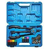 KRAFTPLUS® K.105-2411 - Set di pinze rivettatrici M3 - M12-44.