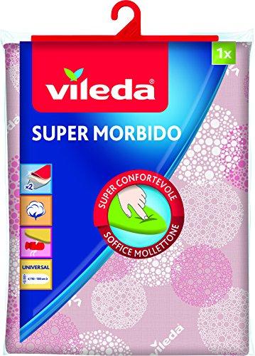 Vileda Tuch Bügeleisen Super Soft, Pink, 1x 22.5x 36cm
