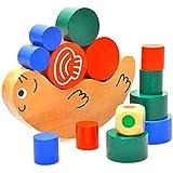 MMRM Escargot Balance Empilement Jouet Blocs de Construction pour Bébés Tout-petits