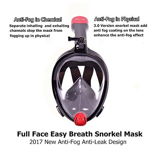 Anti-Fog Protective Mask in schwarz Funsport Bekleidung & Schutzausrüstung