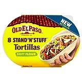 Old El Paso 8 Ständer N Stuff weiche Mehl Tortillas 193g
