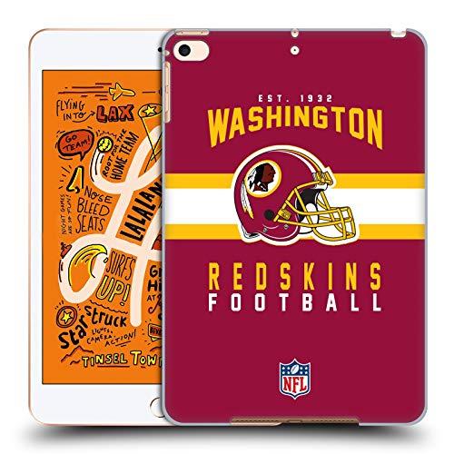 Head Case Designs Offizielle NFL Helm-Buchdruckerkunst 2018/19 Washington Redskins Harte Rueckseiten Huelle kompatibel mit iPad Mini (2019) Washington Nationals Ipad
