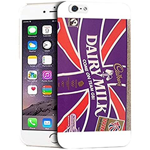 Cadbury Dairy Milk Iphone 6s Custodia Case Cadbury Dairy Milk Apple Iphone 6 / Iphone 6s (4.7 inch) Phone Case della cassa Cover Slim Stylish Design for Boys