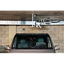 Elebici T1 - Soporte colgador elevador de bicicletas para techo para una bicicleta