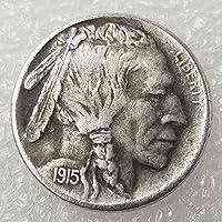 YunBest Best Morgan US Dollars - Hobo Nickel Coin -1915 Coin Collecting-US Dollar USA Old Morgan Dollar BestShop