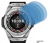4x Crystal clear klar Schutzfolie für Hublot Big Bang Referee Displayschutzfolie Bildschirmschutzfolie Schutzhülle Displayschutz Displayfolie Folie