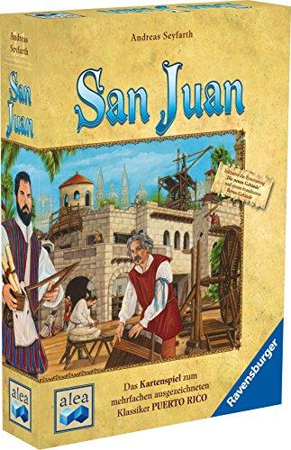 Alea Ravensburger 26952 - San Juan - Neuauflage 2015, Strategiespiel