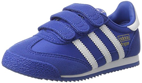 adidas Dragon Og Cf C, Scarpe Running Unisex – Bambini Blu (Blue/ftwr White/blue)