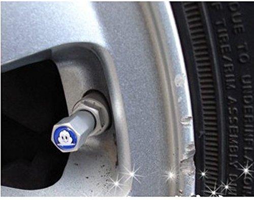 brand-new-michelin-pneu-valve-caps-embleme-jeu-de-4