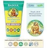 Badger Balm SPF 30 Baby Sunscreen 87ml