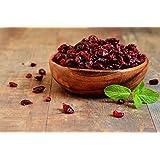 Arándanos Rojos Deshidratados | 1 Kg de Arándanos Secos | Enteros | Un Sabor Agridulce | IDEAL para Recetas | Fruto saludable