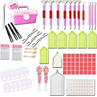 Godyluck Diy Full Diamond Painting Tools Set Glue Mud Lighting Pen Drill Pen Boxes Cases Embroidery Cross Stitch Accessories One Size 7