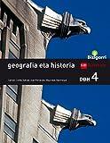 Geografia eta historia. DBH 4. Bizigarri - 9788498554571