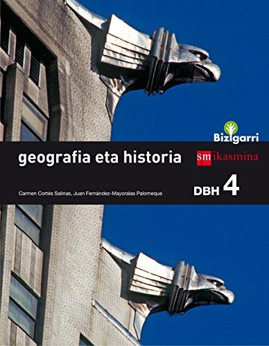 Geografia eta historia. DBH 4. Bizigarri - 9788498554571 por Carmen Cortés Salinas