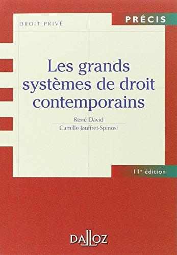 Les grands systèmes de droit contemporains