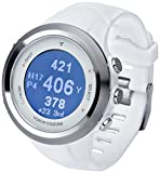 Voice Caddie T2Hybrid Golf GPS telémetro reloj - T-2WH, Blanco, Blanco