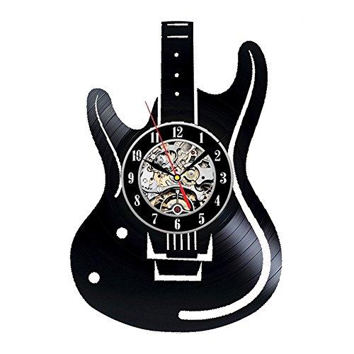 Imagen de babyqueen  eléctrica hueco creativo retro reloj de pared vinilos de decoración de interiores clásicos del arte artesanal reloj