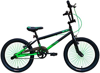Urban Culture UCX2 BMX Bike 20″ – Black/Green (Black,Green)