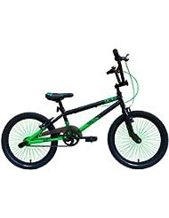 Urban Culture UCX2 BMX Bike 20″ – Black/Green (Black,Green)