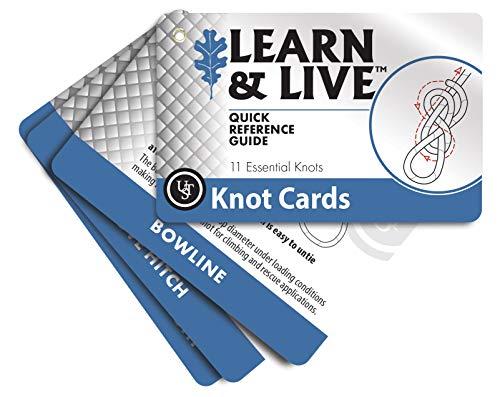ULTIMATE SURVIVAL TECHNOLOGIES KNOT SURVIVAL CARD