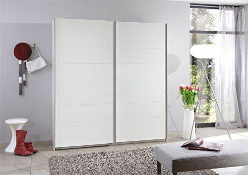 Wimex Kleiderschrank/Schwebetürenschrank Chess, 2 Türen, (B/H/T) 180 x 198 x 64 cm, Weiß