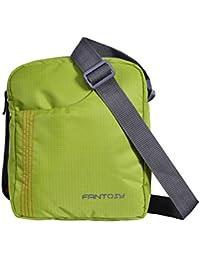 Fantosy men Green polyester slingbag(Green)(MB-014)