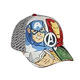 takestop® - Gorra de Los Vengadores Marvel Iron Man Capitán América Thor Hulk con Correa Ajustable para Playa, excursiones, Viajes