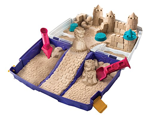 Foto de Caja de arena plegable de arena cinética (Se distribuye desde el Reino Unido)