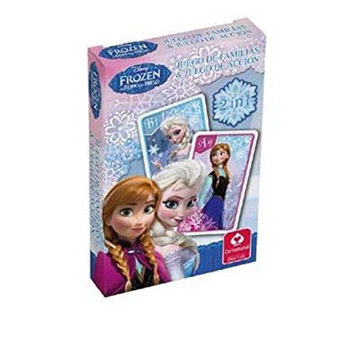 Frozen cartas de familia juego de acción