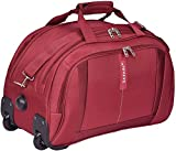 Safari Polyester 55 Cms Burgundy Travel Duffles
