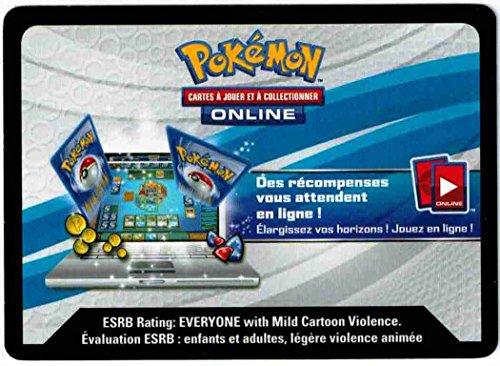 carte Pokémon FRCFEXAG JCC Pokémon Sachanobi EX Codes