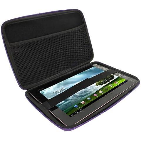 igadgitz Viola EVA Funda Dura Carcasa Cover para Acer Iconia Tab A500 A501 A200 10.1